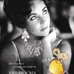 The add for Elizabeth's first perfume