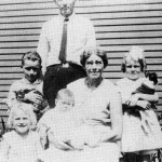 Marilyn (right) with the Bolender family