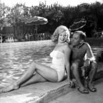 Marilyn with her agent Johnny Hyde
