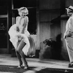 The famous scene in The Seven Year Itch