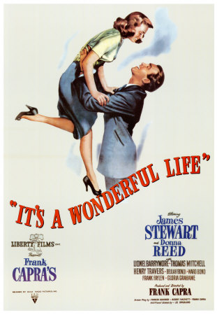 "Cartaz de ""It's a wonderful life"""