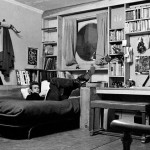 James Dean in his New York appartment