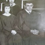 James Dean's graduation picture