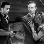 Bogie, Leslie Howard and Bette Davis in The Petrified Forrest