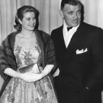 Clark and Grace Kelly at the Academy Awards