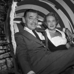 Clark Gable And Kay Williams in 1955