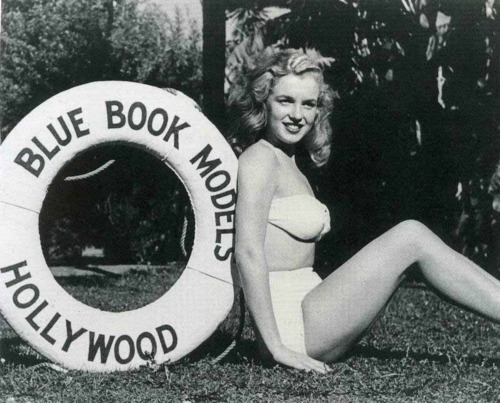 Marilyn's Blue Book days