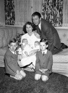 James, Gloria and their children