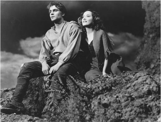 Olivier and Oberon in Wuthering Heights