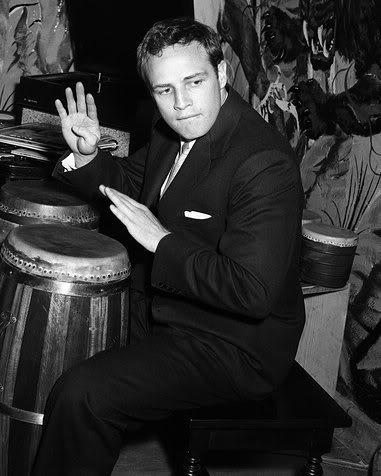 Marlon Brando bongos
