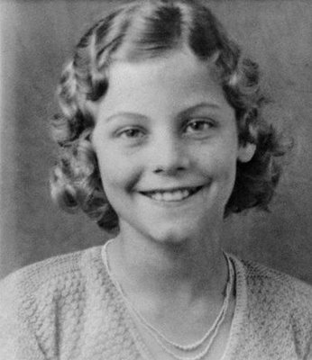 Ava Gardner as a child