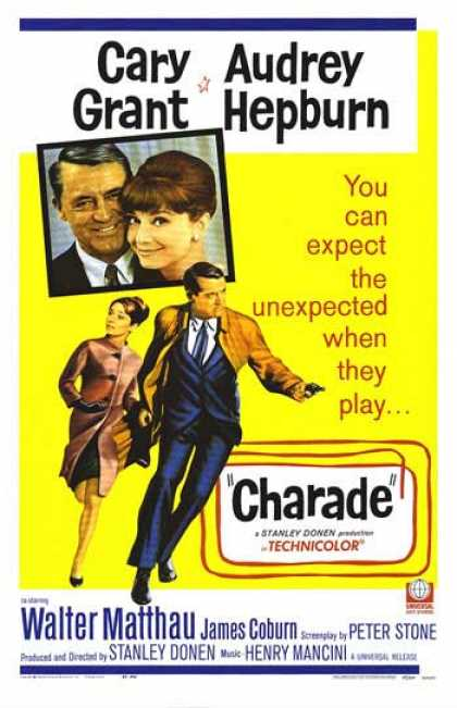 Charade filmposter