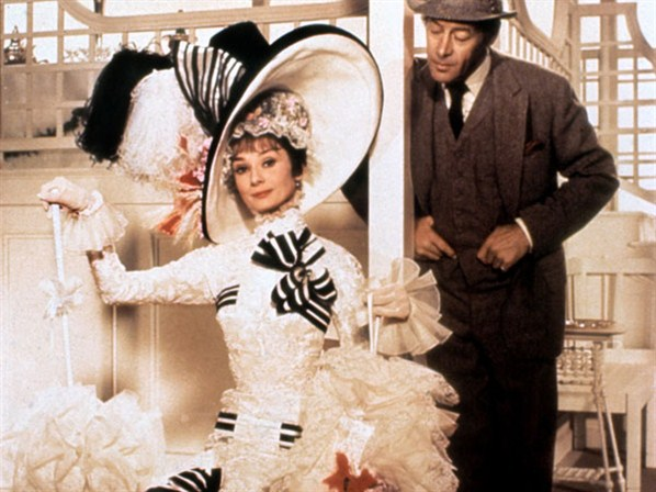 Audrey and Rex in My Fair Lady