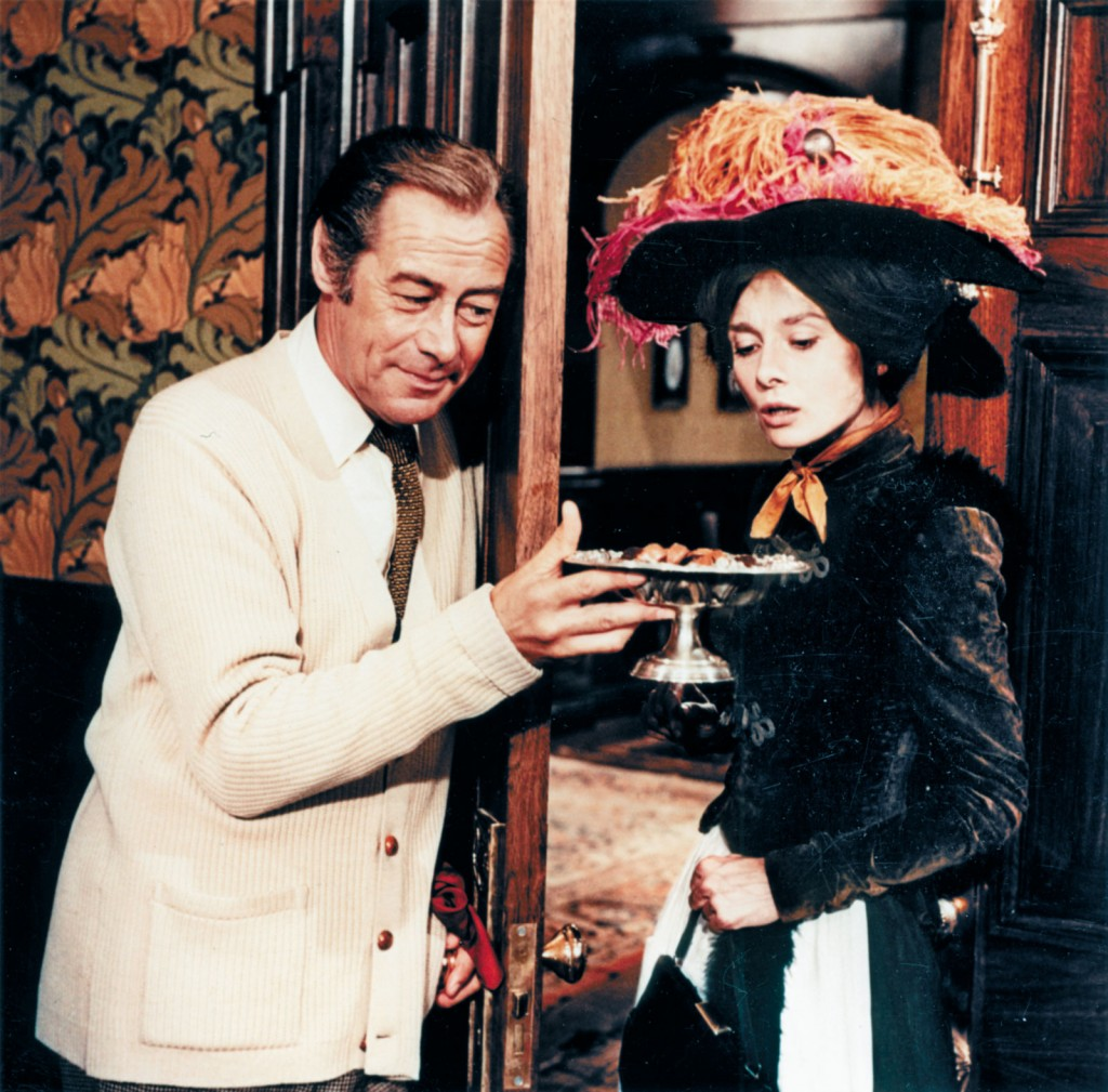 Rex and Audrey in My fair Lady