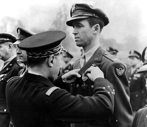 James Stewart in the army