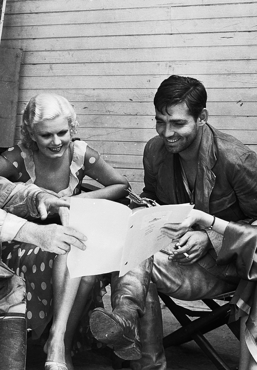 Clark Gable and Jean Harlow
