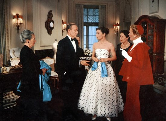 Fred Astaire and Audrey Hepburn in Funny Face