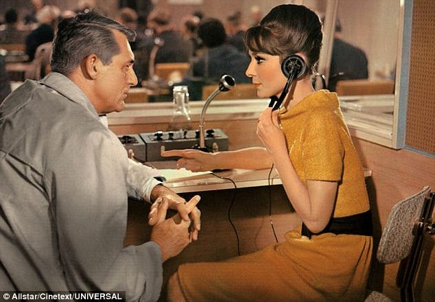 Cary and Audrey in Charade