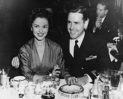 Shirley Temple and husband Charles