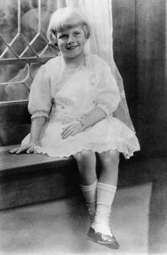 Jean harlow as a child